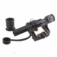 Hot NATOARMS SVD Dragunov Tactical 4x26 Red Illuminated AK Rifle Scope For Hunting Shooting 6 0012