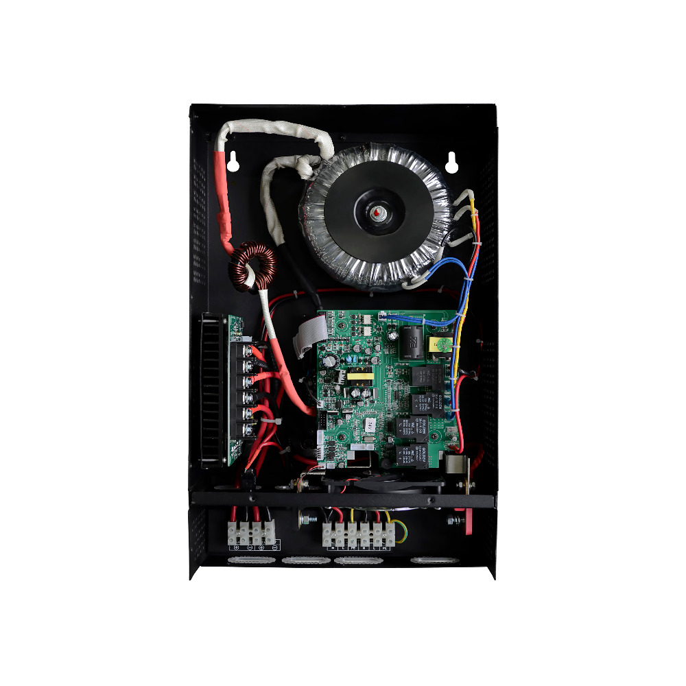 Низкие частоты ЖК дисплей дисплей 3KVA 2500 Вт Чистая синусоида гибридных инвертор электро mppt PV Контроллер заряда