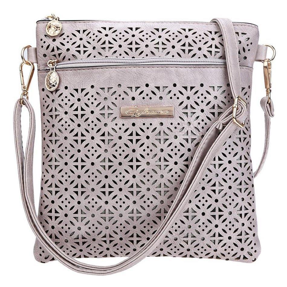 2016 Fashion Soft Women Crossbody Bag Hollow Out Shoulder Messenger Bags Flower Print Flap Single Handbags For Women fashion casual bags handbags with short handle women famous brands shoulder messenger bag gift hollow out flower crossbody bag