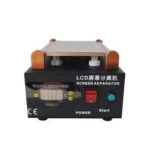 Image 2 - 948Q Built in Pump Vacuum Glass LCD Screen Touch Screen Separator Machine Max 7 inches Mobile Phone Disassemble Repair Tool