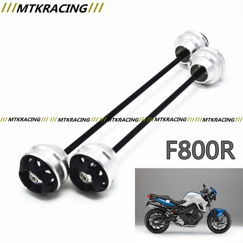 MTKRACING Free shipping for BMW F800R 2009-2015 CNC Modified Motorcycle Front and rear wheels drop ball / shock absorber new free shipping motorcycle red front