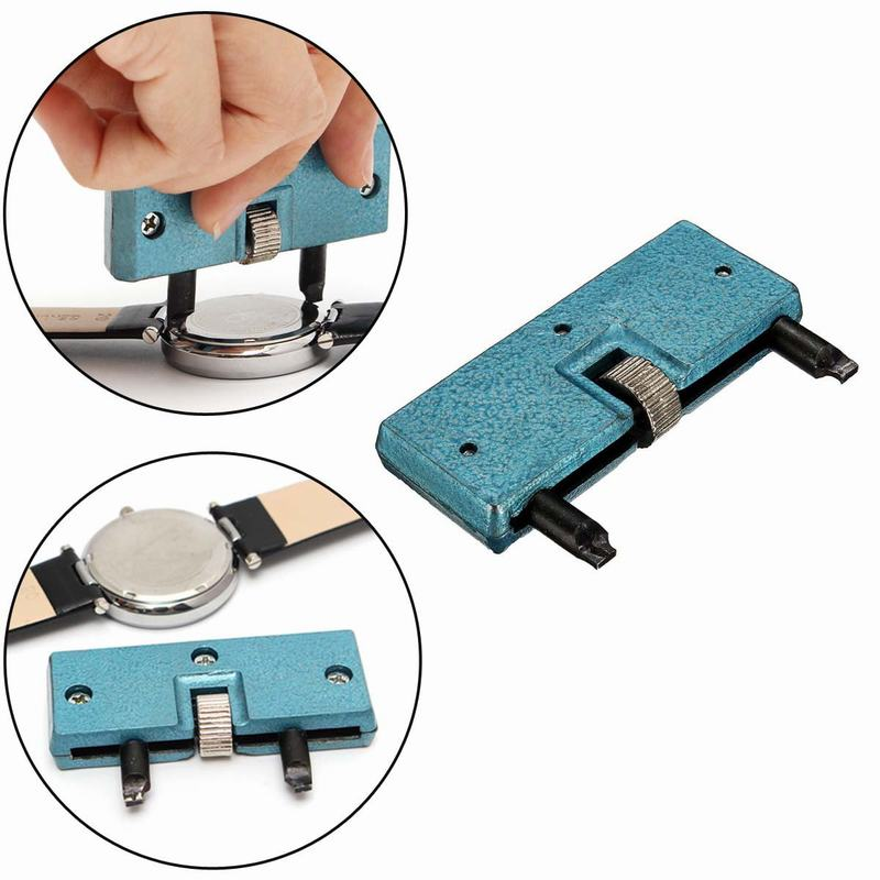 Watch Accessories Watches Adjustable Watch Opener Back Case Press Closer Remover Two Feet Opening Screw Wrench Watchmaker Tools Modern Techniques