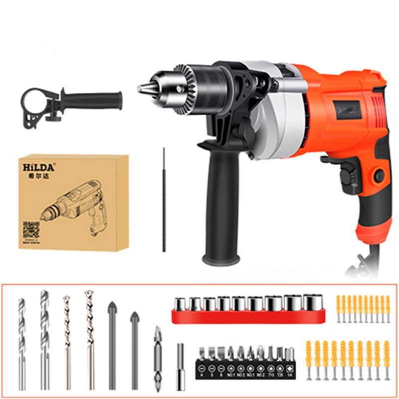650/780W Impact Electric Drill Electric Rotary Hammer With BMC And Accessories Multi-purpose Percussion Drill For Industry