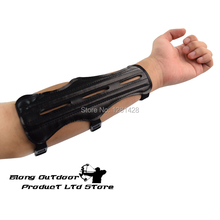 FREE SHIPPING 1 PC ArmGuard PU for shooting protective gears bow hunting