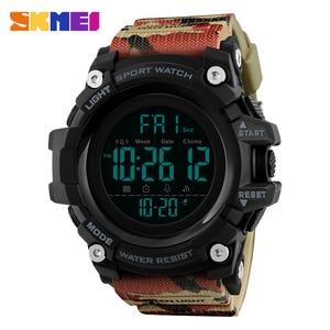 Image 5 - SKMEI Waterproof Men Sports Watches Luxury Brand Fashion Military Digital Watch LED Electronic Clock Men relogio masculino