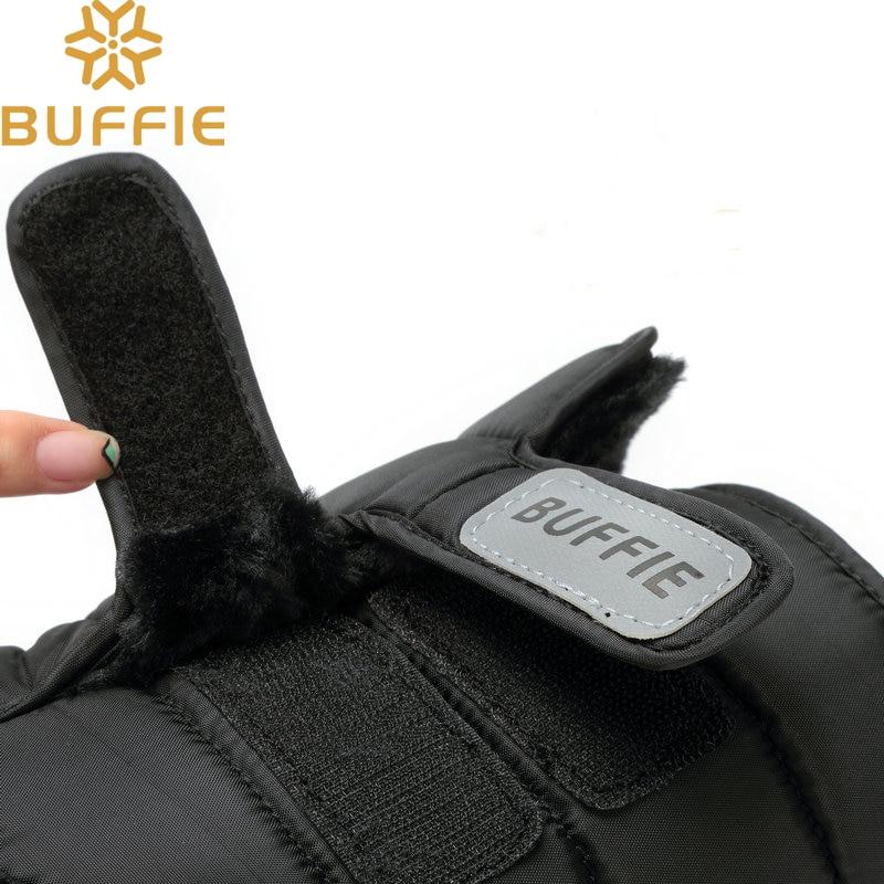 Men shoes Winter Boots Shoe Solid Black Snow Boots Plus size 36 to - Men's Shoes - Photo 4