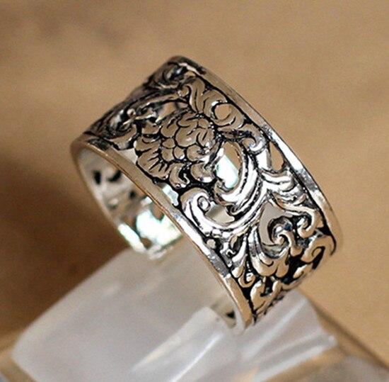 Thai Antike Besteck S925 Sterling Silber Schmuck In Europa Und