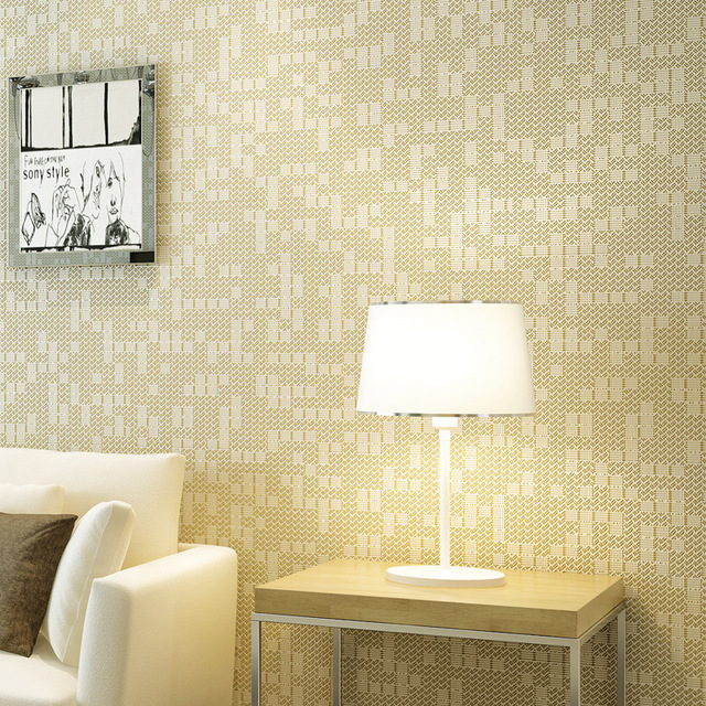 Schon Beibehang Moderne Einfache Klar Farbe Mosaik Wohnzimmer Schlafzimmer Tapete  Hotel Arbeitet Hause Verbesserung 3d Wallpaper Für