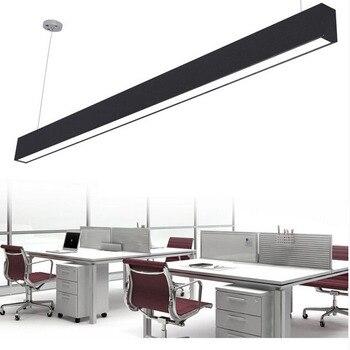 Z Length150cm 24 W ventilador de techo moderna lámpara colgante de aluminio LED Chip lámpara colgante ingeniería colgante tira de alambre accesorio de iluminación