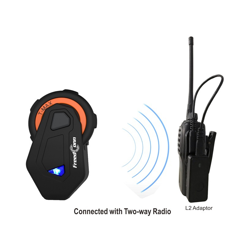 Portable Motorcycle Helmet Intercom Bluetooth Headset Fm Radio Bluetooth Earphone