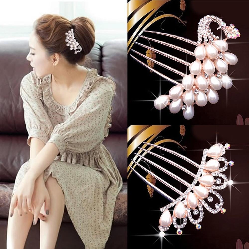 Fashion-Wedding-Bridal-Crystal-Rhinestone-Flower-Faux-Pearls-Hairpin-Diamante-Hair-Clip-Comb (1)