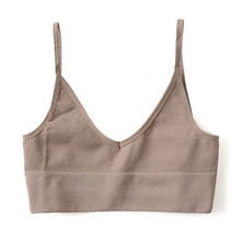 Backless Straps Sports Tank Top Sexy Vest Women Underwear Gym Yoga Jogging Clothing For Fitness Women Seamless Sport Camisole