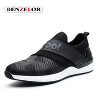 BENZELOR Brand High Quality 2017 Men Shoes Fashion Casual Chaussure Homme Comfortable Popular Adolescent S Schoenen