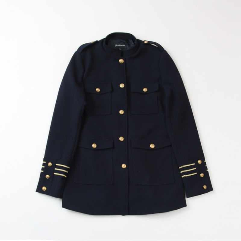 Popular Navy Military Coat-Buy Cheap Navy Military Coat lots from ...