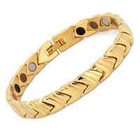 Gold Bracelet Men Good Luck Mens Fashion Jewelry Stainless Steel Charm Bracelets for Sale Braclets Magnetic Therapy Bracelet