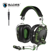 SADES SA926 Gaming Headset 3 5mm Wired Over Ear Headphones With Mic For PC PS3 PS4
