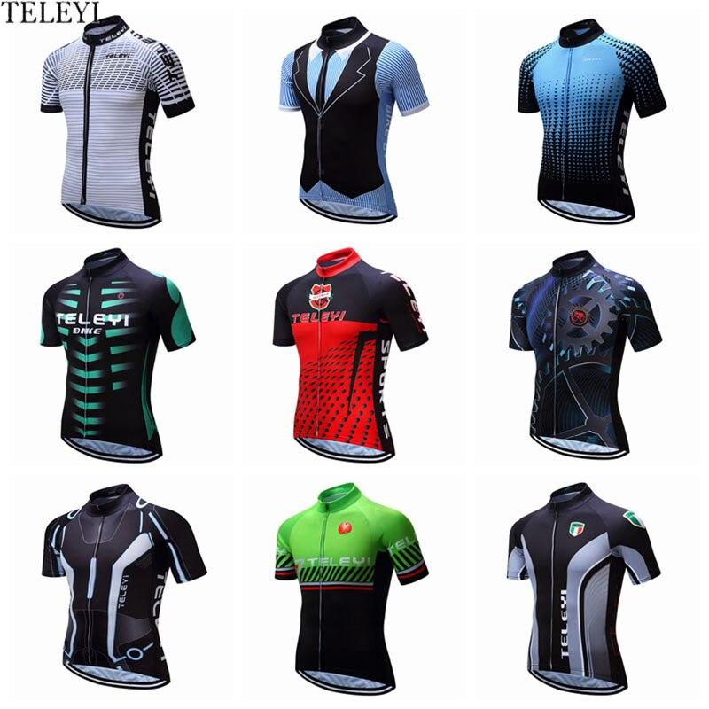 2019 Cycling Bike Clothing Short Sleeve Bicycle Ciclismo Jersey Shirt Jerseys