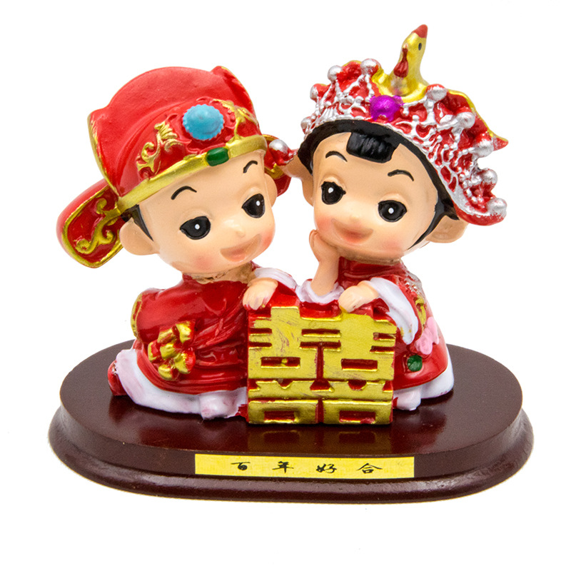 Buf home decoration accessories chinese traditional wedding buf home decoration accessories chinese traditional wedding decoration couple statue handmade wedding statue gift ornament in statues sculptures from junglespirit Image collections