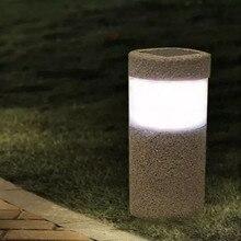 купить Solar Light 3W Waterproof LED White Light Sand-blasting Outdoor Nightlight For Garden Landscape Yard Lawn Light Path Lamp по цене 500.86 рублей