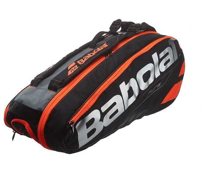 Authentic Babolat Aero  Tennis Bag Double Shoulder Sport Backpack For 6 Rackets