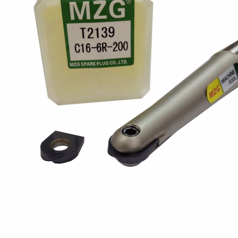 Image 3 - MZG T2139C25 8R 250 1T Carbide Insert Clamped Fast Feeding Alloy End Mill Milling High speed cutting Ball Milling Cutter-in Milling Cutter from Tools
