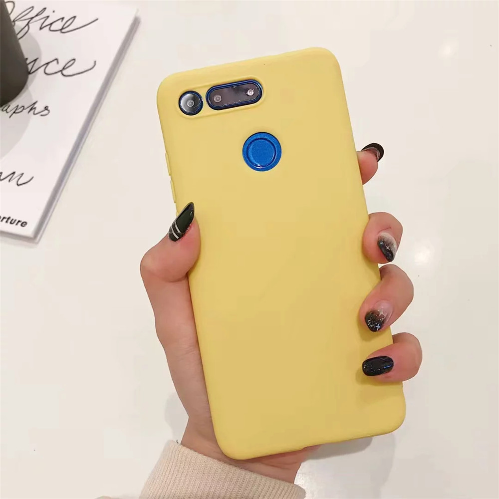 Candy Color Case for Huawei Y7 Y9 Prime 2019 P20 P30 Mate 20 Pro Honor 10 9 Lite 7C 8X 8C P Smart Plus 2019 Soft Silicone Cases _15