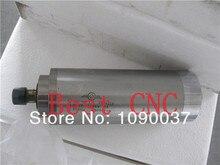 220 v CNC motor husillo de refrigeración por agua del huso 1.5KW ER16 Motor Husillo Refrigerado por Agua para la máquina de grabado 80x213mm 4 Rodamiento