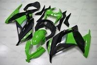 EX300 2013 2015 Fairings for Kawasaki Zx300r 2014 Plastic Fairings EX300 2015 Green Black Bodywork
