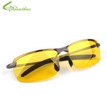 2018 Новое поступление Для Мужчин's Очки водителей Ночное видение очки антибликовый поляризатор Защита от солнца Очки Поляризованные Вождения Солнцезащитные очки для женщин