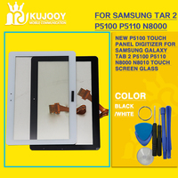 New P5100 Touch Panel Digitizer For Samsung Galaxy Tab 2 P5100 P5110 N8000 N8010 Touch Screen
