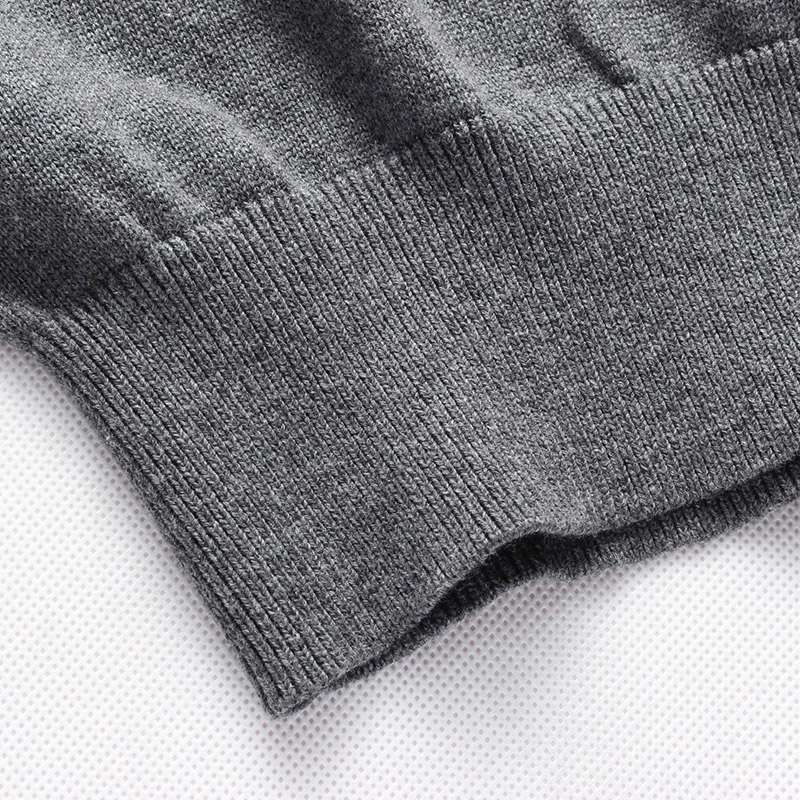 2020 Autumn Winter Brand New Men Casual Sweatshirt Man Knitted Clothes Slim Long Sleeve Spring Striped Sweatshirts Tops 5