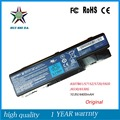 11.1 v 48wh nueva batería original del ordenador portátil para acer 5920 5720 5315 5942 7220 as07b31 as07b41 as07b51/as07b61