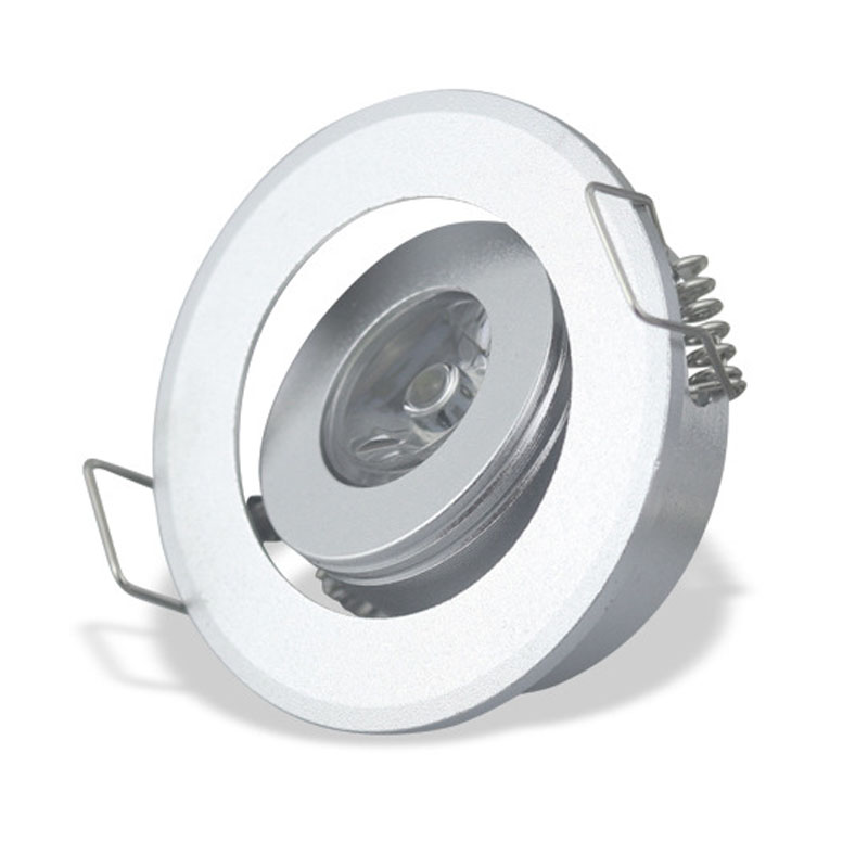 Ceiling Wall Undercabinet Lights At: Adjustable LED 1W 3W Mini Recessed Ceiling Downlight Kit
