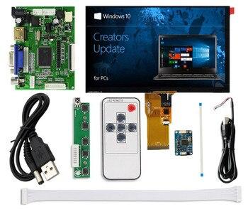 Pantalla LCD de 7 pulgadas 1024*600 HDMI + pantalla táctil capacitiva con Monitor de placa controladora para Raspberry Pi Banana/Orange Pi