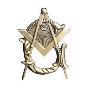 Image 3 - Масонский значок с отворотом, угольник и циркуль, значок с отворотом каменщика, значок с бабочкой, клатч, символ в подарок, бесплатная доставка