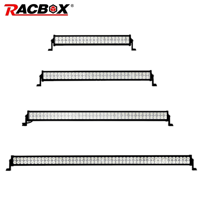 RACBOX 52 42 32 22 inch 120W 180W 240W 300W OffRoad LED Work Light Bar Driving Lamp For 4x4 ATV Boat SUV Car Truck Tractor Light