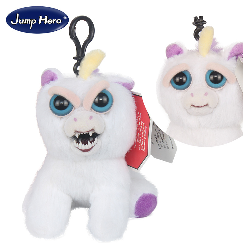 11-12cm mini feisty pets change face geek novelty toys prank tricks gags chain funny antistress toy цена и фото