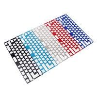 Механическая клавиатура с ЧПУ 60 анодированный алюминий рисунок контурное позиционирование наколенник с пластиной ISO ANSI для GH60 pcb 60% клавиат...