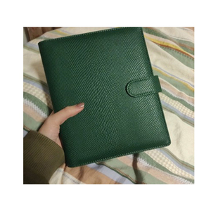 Image 5 - Office Business Folder Notebook Journal Green Loose leaf Binder Agenda 2021 Notebook Planner A5 A6 Hardcover Diary Notepad