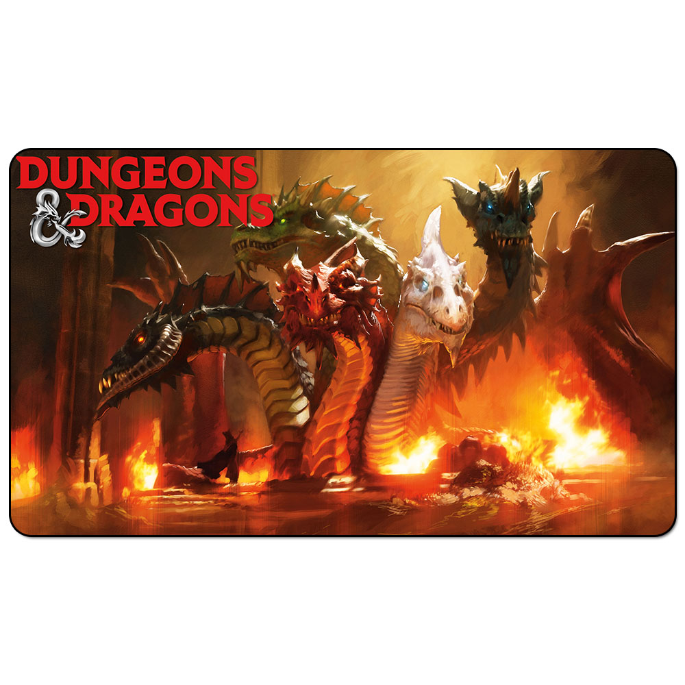 DUNGEONS DRAGONS 60x35cm Magic Playmat DUNGEONS DRAGONS Playmat For Board Game Table Mat