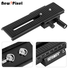 100% New generation Fotomate LP-01 2-Way Macro Focus Focusing Rail Slider for Canon Nikon Sony Pentax Camera DSLR