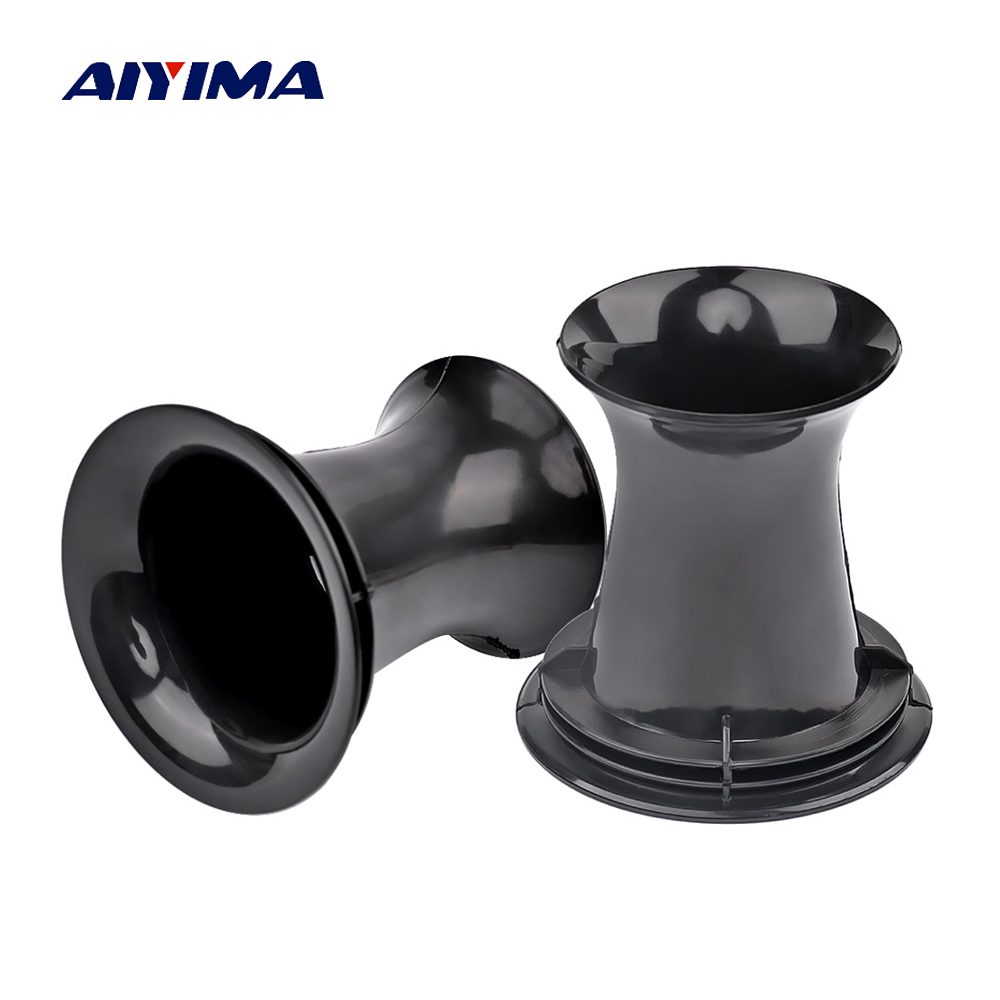 AIYIMA 2Pcs Audio Speakers Dedicated Inverted ABS Guide Tube Sound Box Speaker Repair Parts Accessories DIY For Home Theater