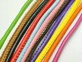 32.8 Ноги Прошитой Круглый Мягкая Синтетическая Кожа String Ювелирные Украшения Шнура 5 мм
