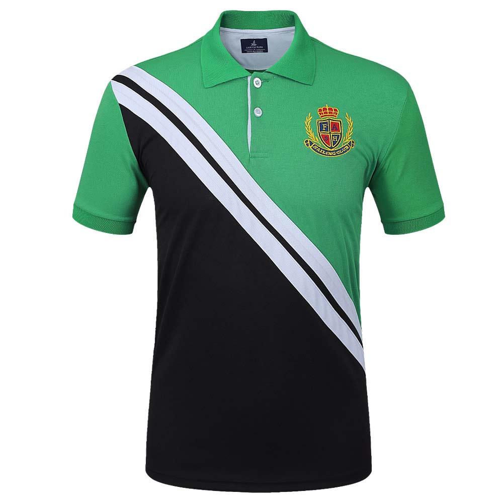 New Men's   Polo   Shirt Short Sleeve Cotton Jerseys Shirts Male Slim Fit Tennis Shirts Plus Size Basketball Casual Soccer Tops 3XL