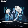 Ubit M8 In-Ear Heavy Bass Earphone 10MM With Microphone 3.5mm Jack Sports Music Earphones Headset For IPhone Huawei Xiaomi Sony