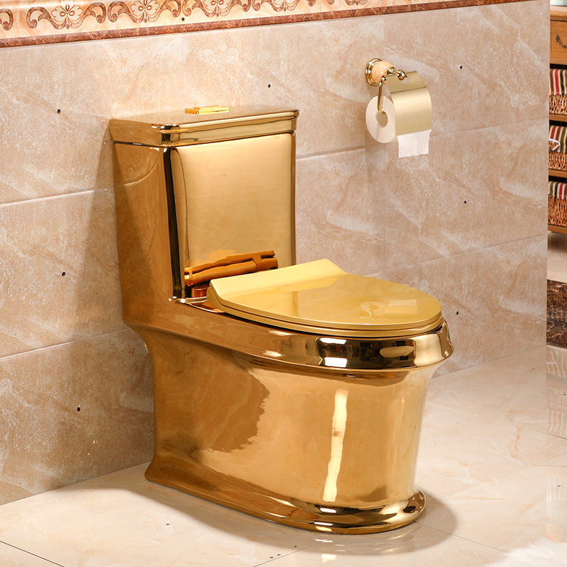 Excellent Us 1680 0 Art Gold Toilet Siphon Silent Water Saving Art Toilet Gold Sitting Urinal Toilet Seat In Sanitary Ware Suite From Home Improvement On Inzonedesignstudio Interior Chair Design Inzonedesignstudiocom