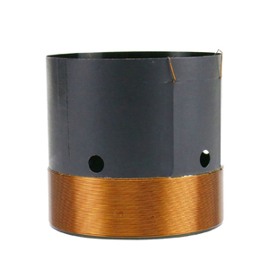 Image 5 - Peças de reparo do woofer 8ohm da bobina de voz do baixo de ghxamp 51mm com furo do respiradouro fio de cobre redondo de 2 camadas 200 280 w 1pc