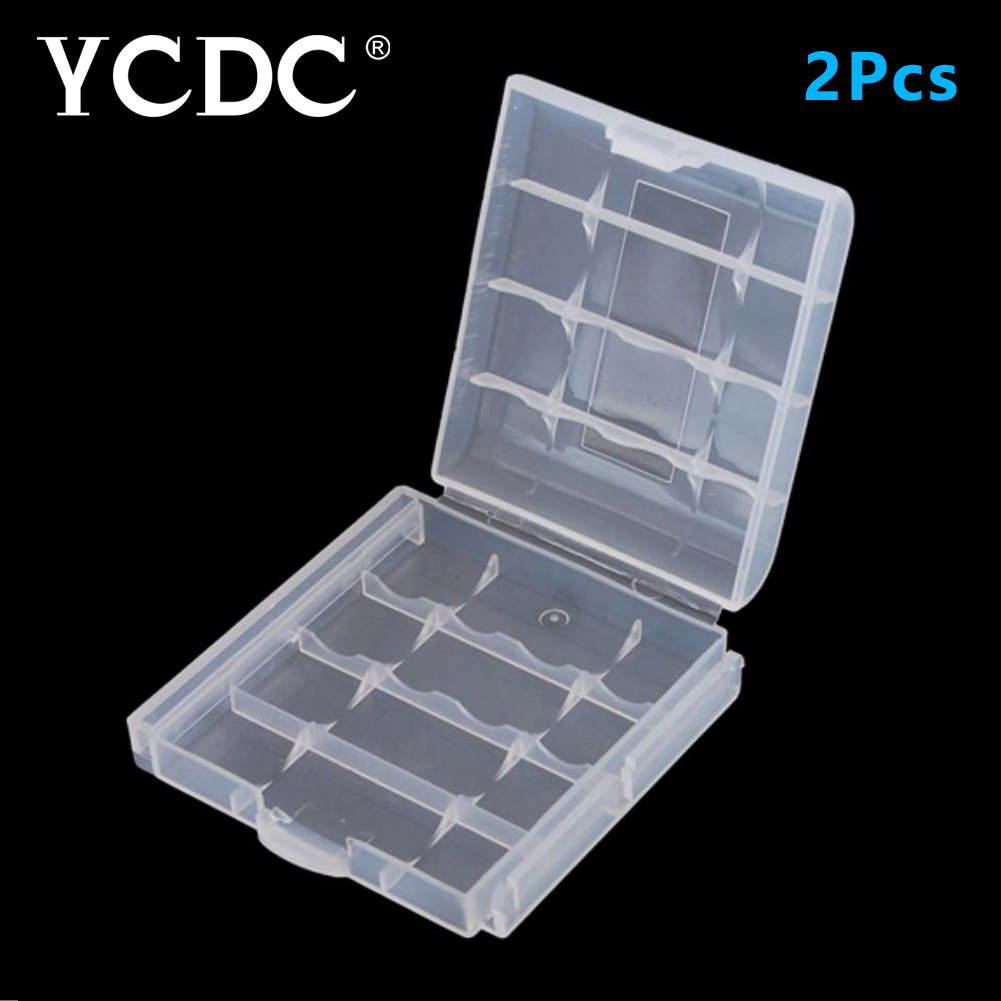 YCDC 2x AA 14500 / AAA 10440 Battery Accumulator Storage Case Hard Bag for Digital Camer ...