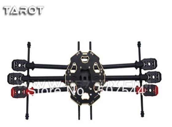 Tarot 680 Pro TL68P00 Fiber De Carbone Pliant 6 axes Multicopter Tarot fy680 pro version Livraison Gratuite avec Suivi