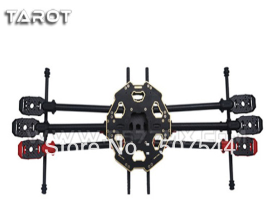 Tarot 680 Pro TL68P00 Carbon Fiber Folding 6 axis Multicopter Tarot fy680 pro version Free Shipping with Tracking tarot aircraft parts new type 6 axis frame tl2778 free shipping with tracking page 5